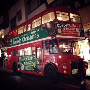 ロンドンバス~♪